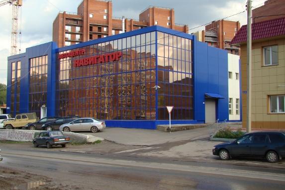 Автоцентр Навигатор в Томске - подъезд